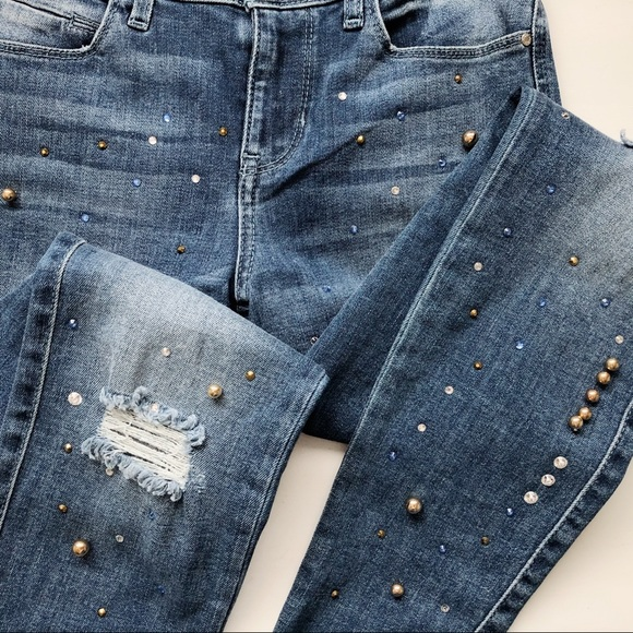 Guess Denim - Guess Sexy Curve Embellished Denim Jeans | 25